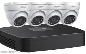 Dahau N444E42 4MP Network Security Camera System