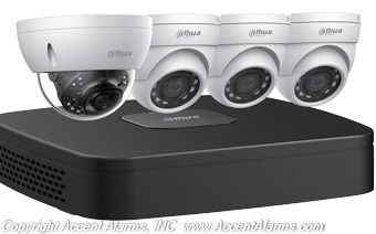Dahau N448D42 4K Network Security Camera System