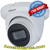 Dahua N53AJ52 Eyeball IP Security Camera, 5MP Starlight 2.8mm IR, SMD