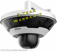 Dahua DH-PSD81602N-A360,8x2MP sensors dome and PTZ Security Camera