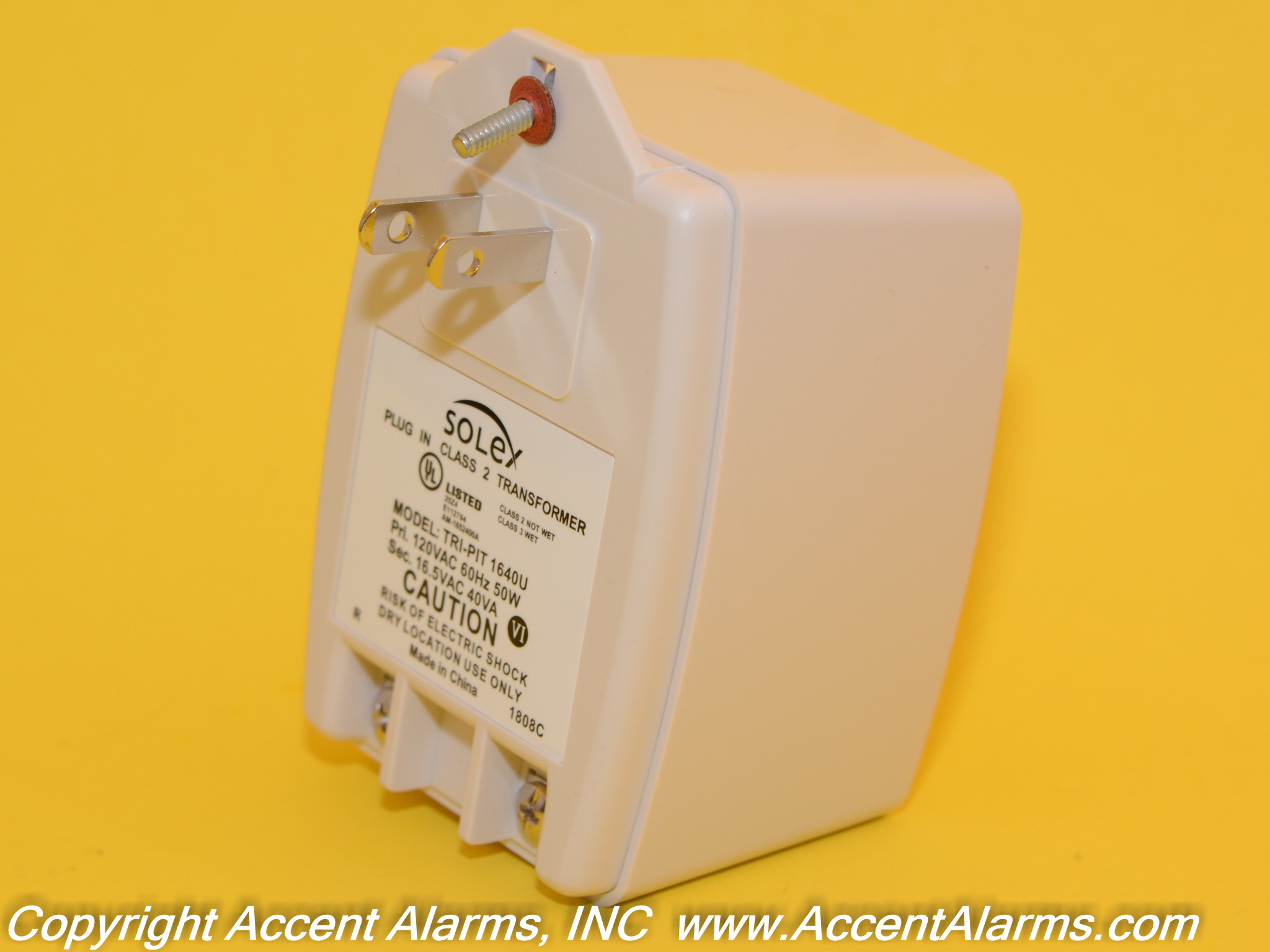 Altronix TP1640 Security Alarm Plug-in Transformer 16VAC/40va, 120VAC input