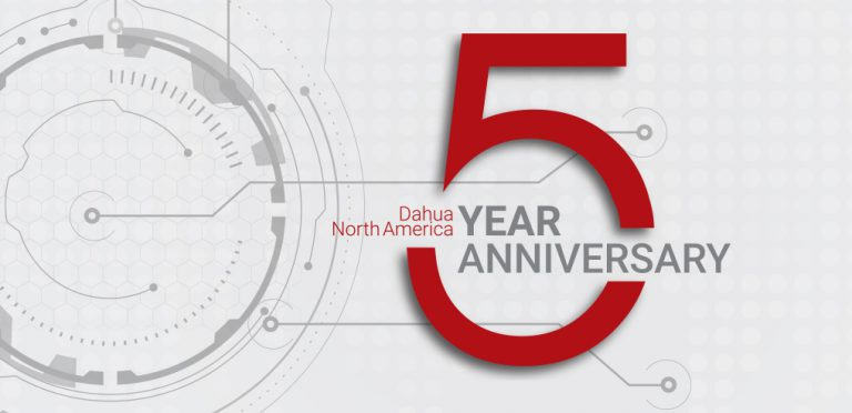 Dahua Technology USA Celebrates Five Years in North America