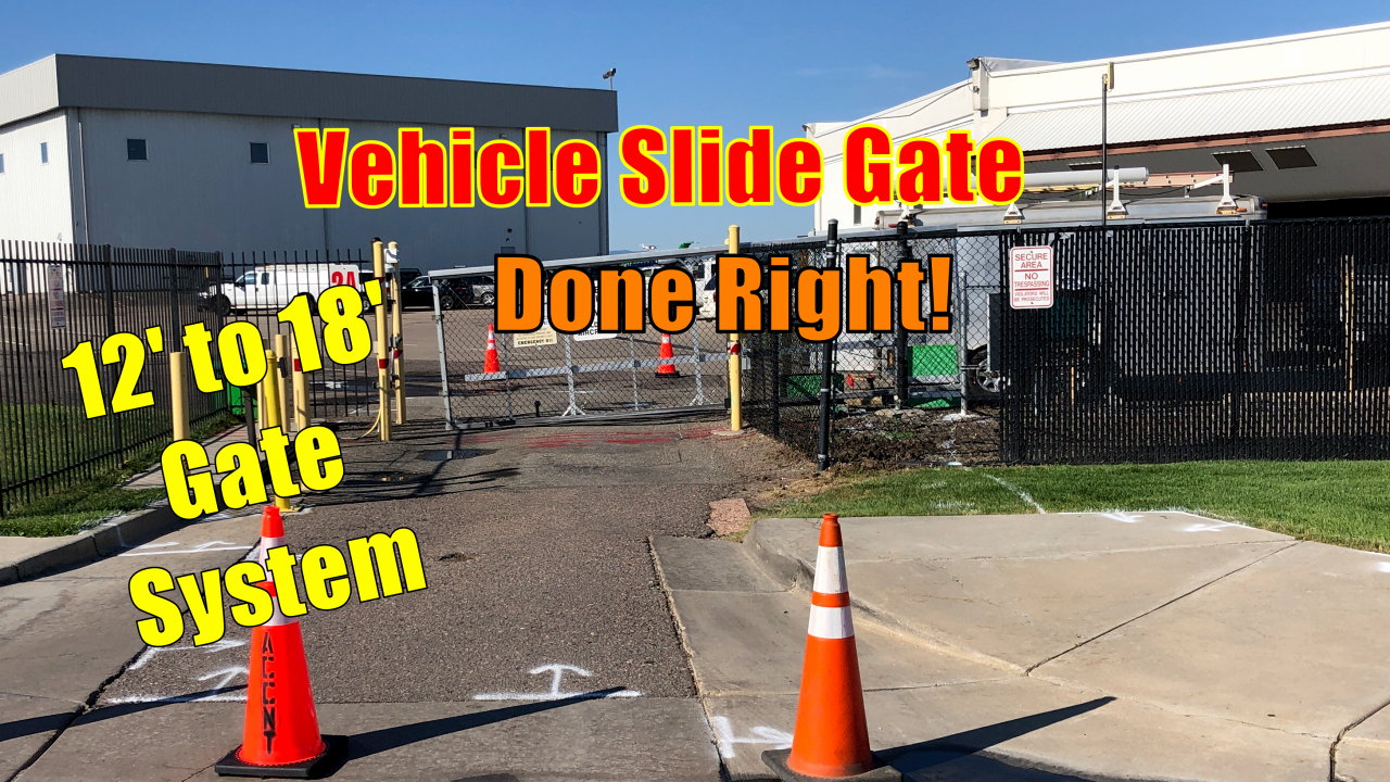 HySecurity Slide Gate upgraded